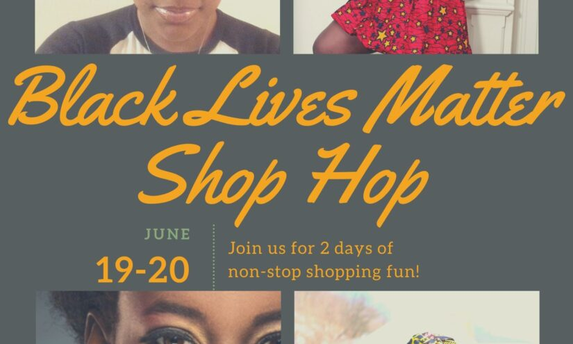 black lives matter shop hop
