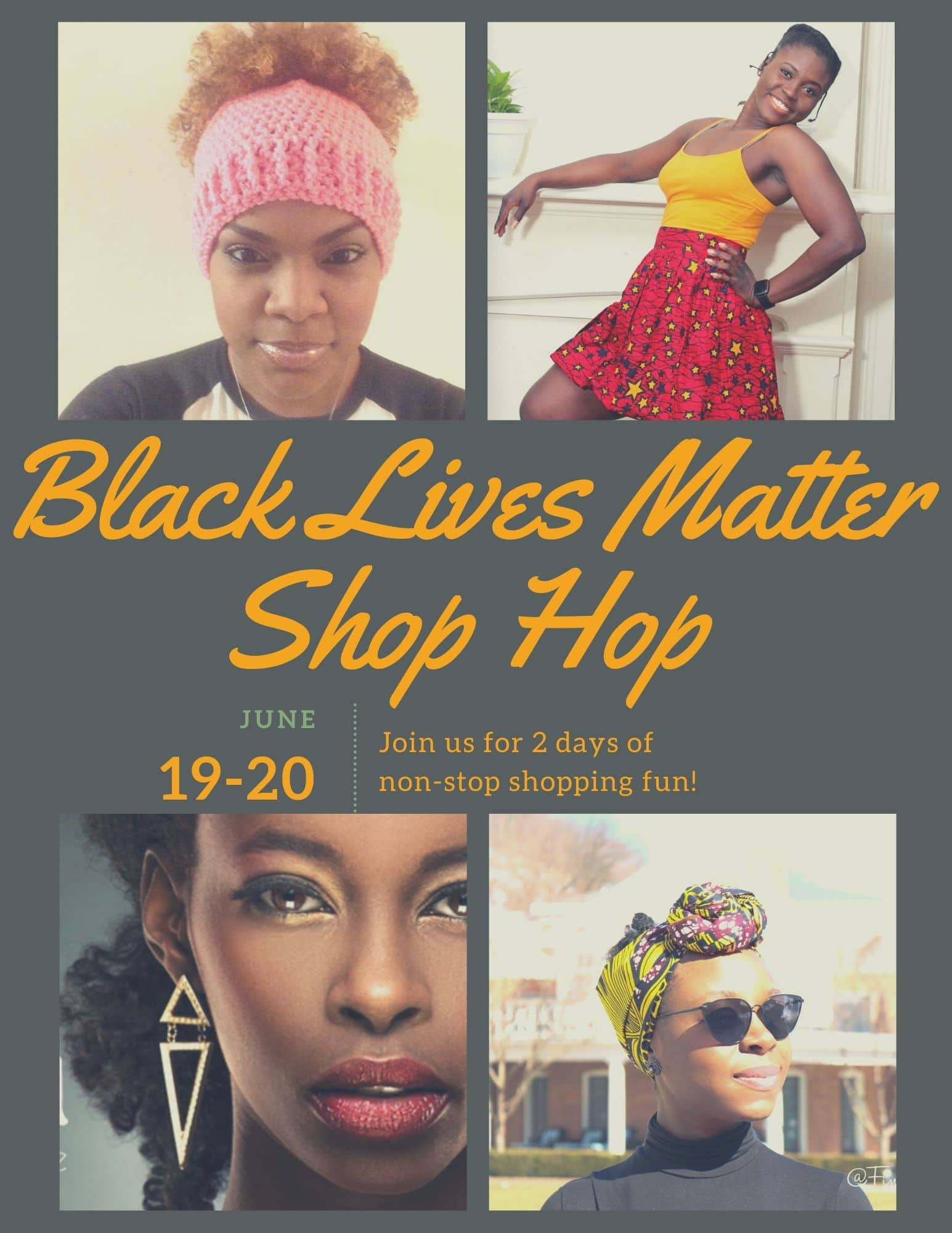 black lives matter shop hop