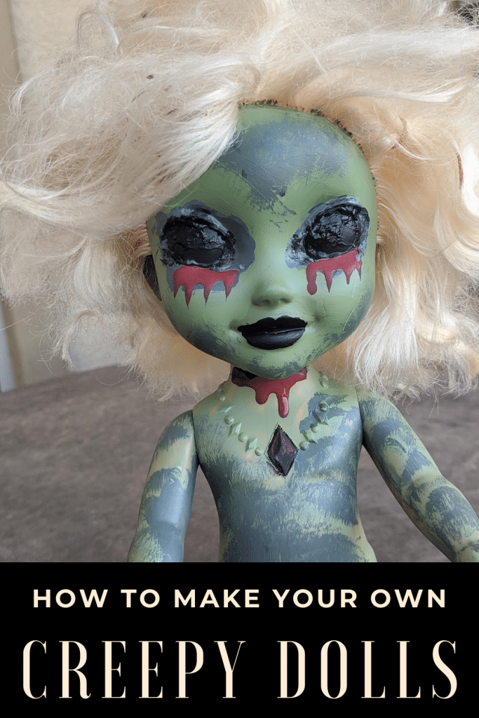 how to make your own creepy dolls