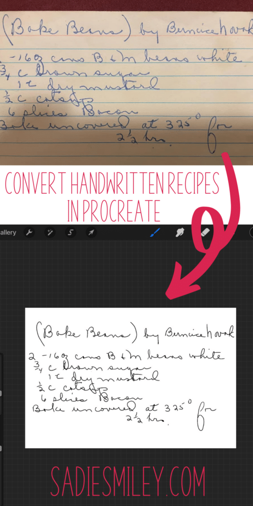 convert recipes to svgs