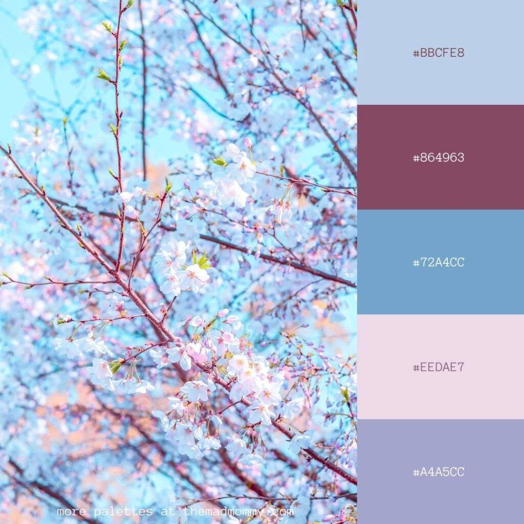 Floral Blossom Color Palette