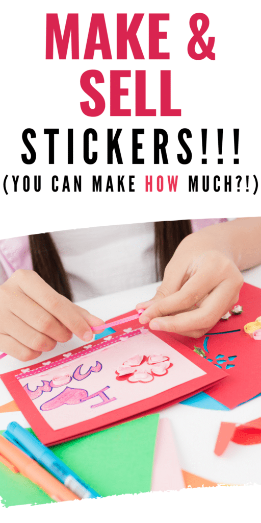 how to sell stickers on etsy
