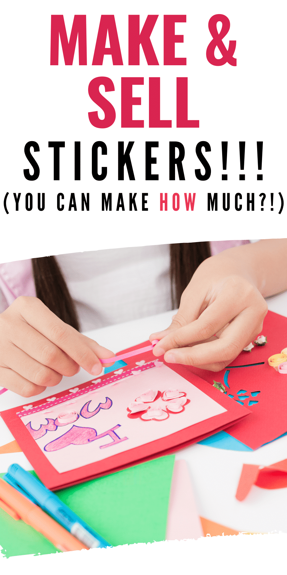 how to sell stickers
