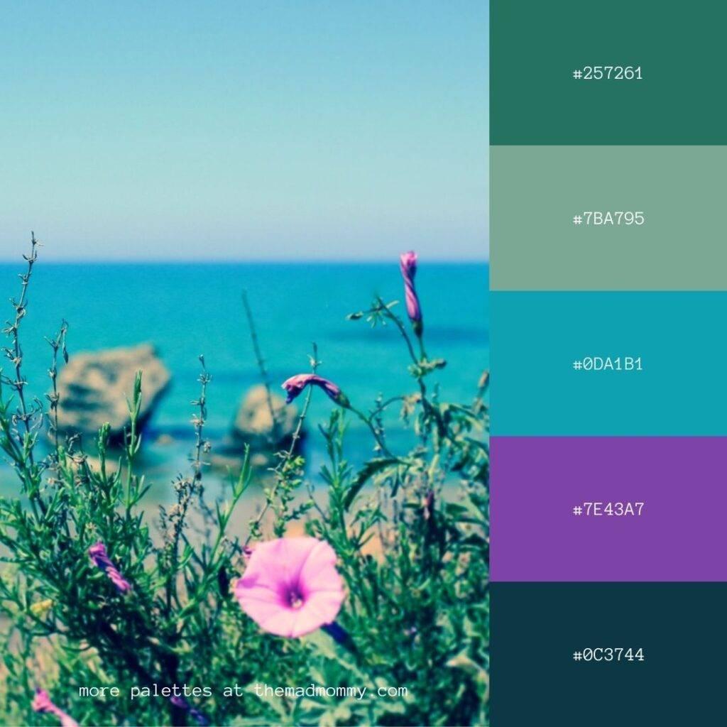 italian jewel tones color palette