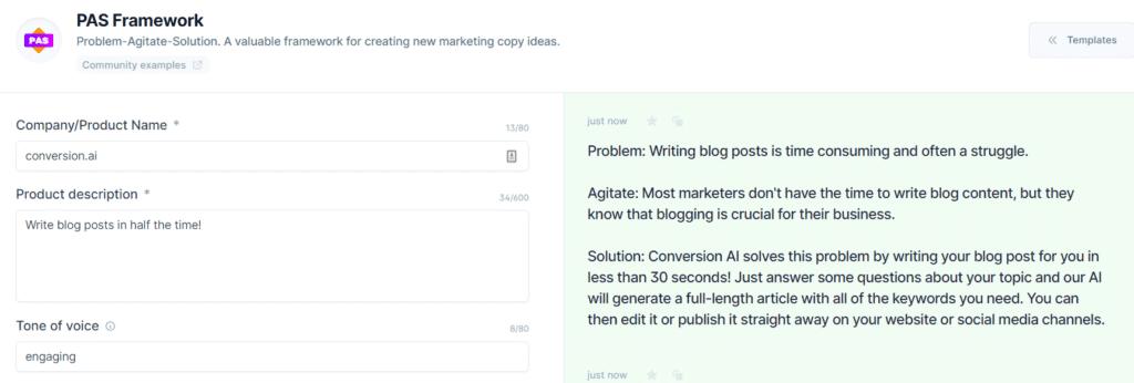 best ai copywriting tool