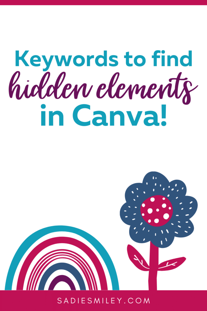 best hidden keywords canva